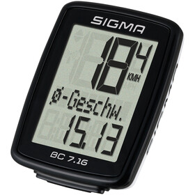 SIGMA SPORT BC 7.16 Bike Computer with wire